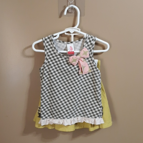 EUC Matilda Jane 2pc tank&skirt bundle